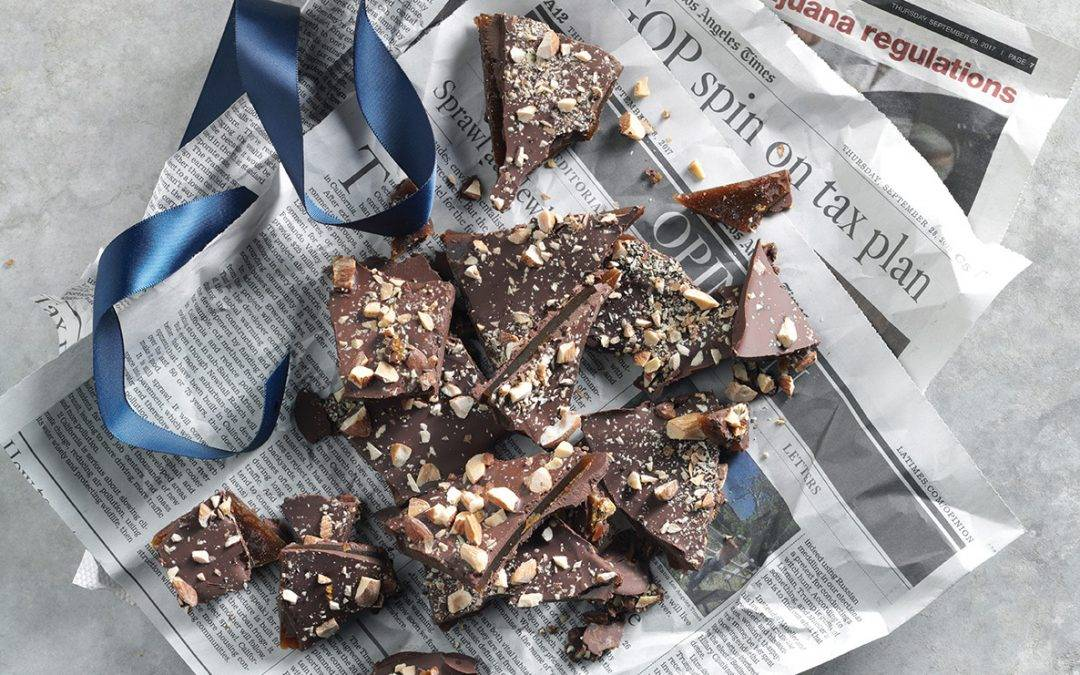 Recipe: Infused Chocolate Almond Butter Toffee