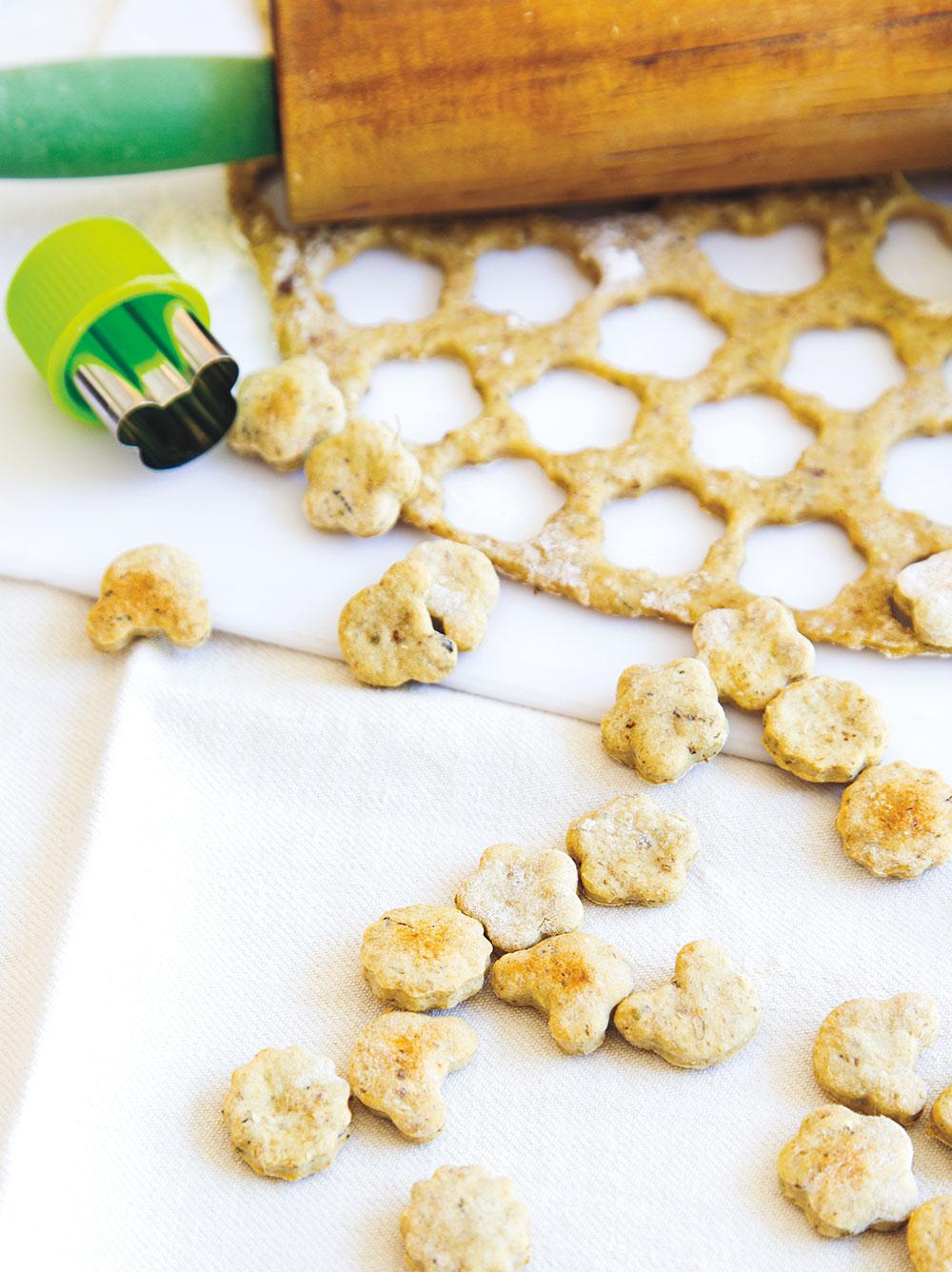 CBD-Infused Baked Sardine Treats for Cats