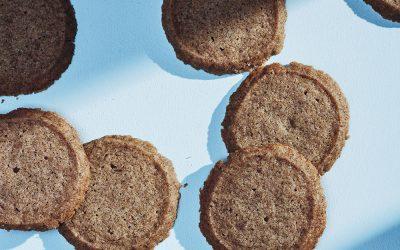 Earl Grey Butter Cookies