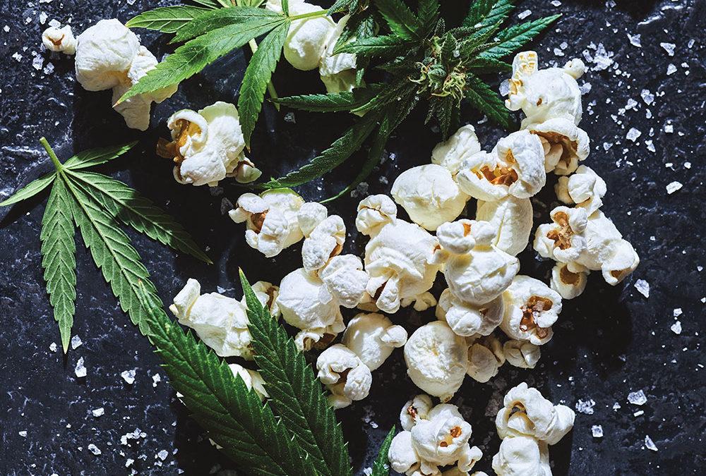 Cannabis Infused Popcorn
