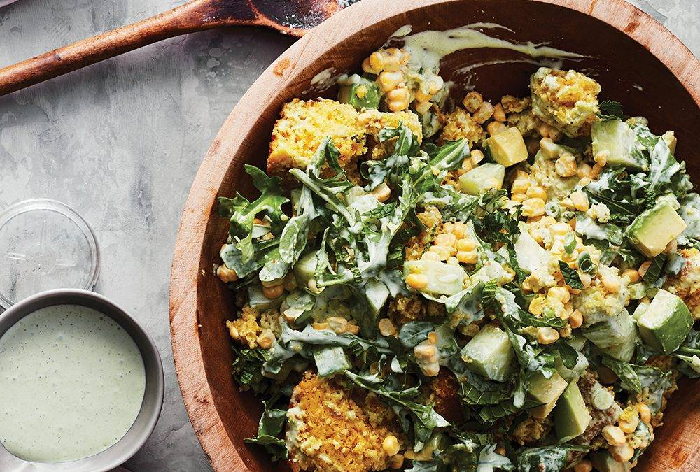 Recipe: Cornbread and Summer Vegetable Salad