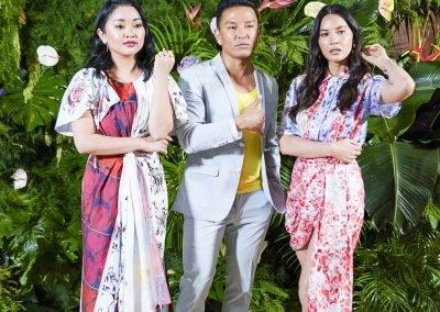 Lana Condor Olivia Munn and Prabal Gurung