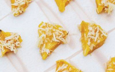 CBD Infused Dehydrated Coconut Pineapple