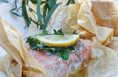 Recipe : Infused Salmon