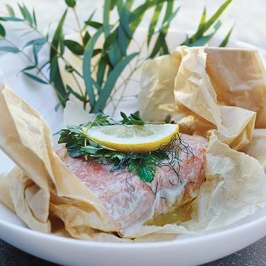 Recipe : Infused Salmon