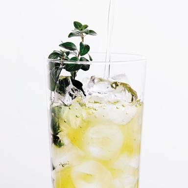 Green Gardens Vodka and Cannabis-infused Cocktail