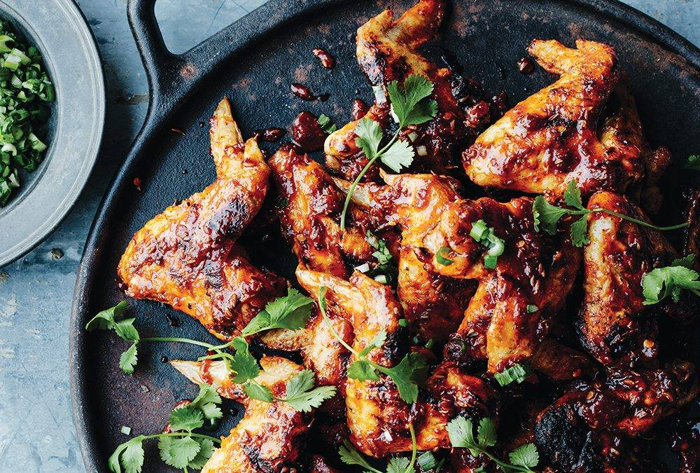 Recipe: Grilled Chicken Wings with Sambal