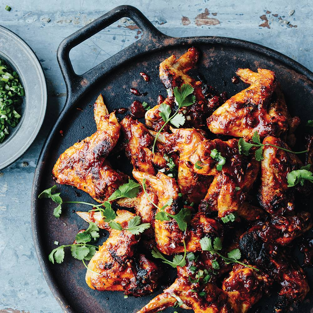 Grilled Chicken Wings with Sambal