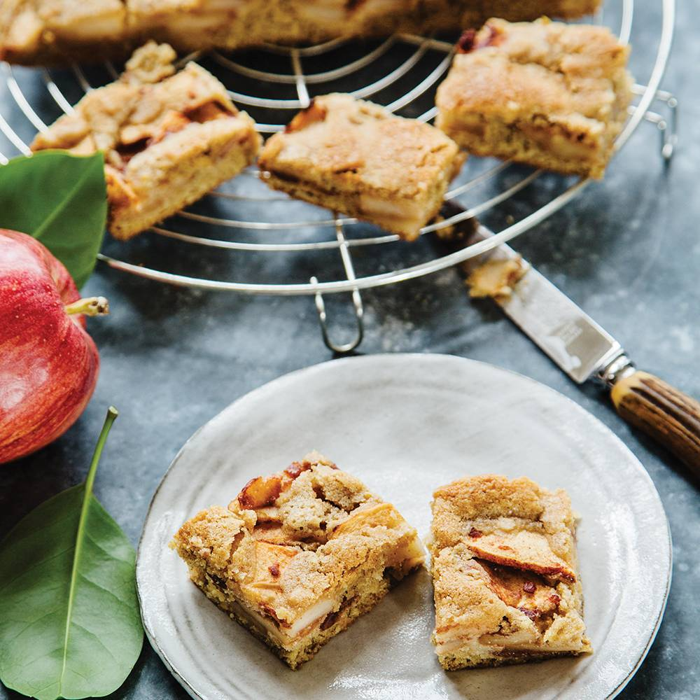 Infused Medicated Apple Bars