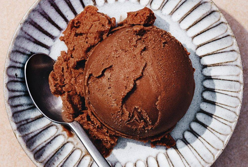 Avocado Dark Chocolate Ice Cream