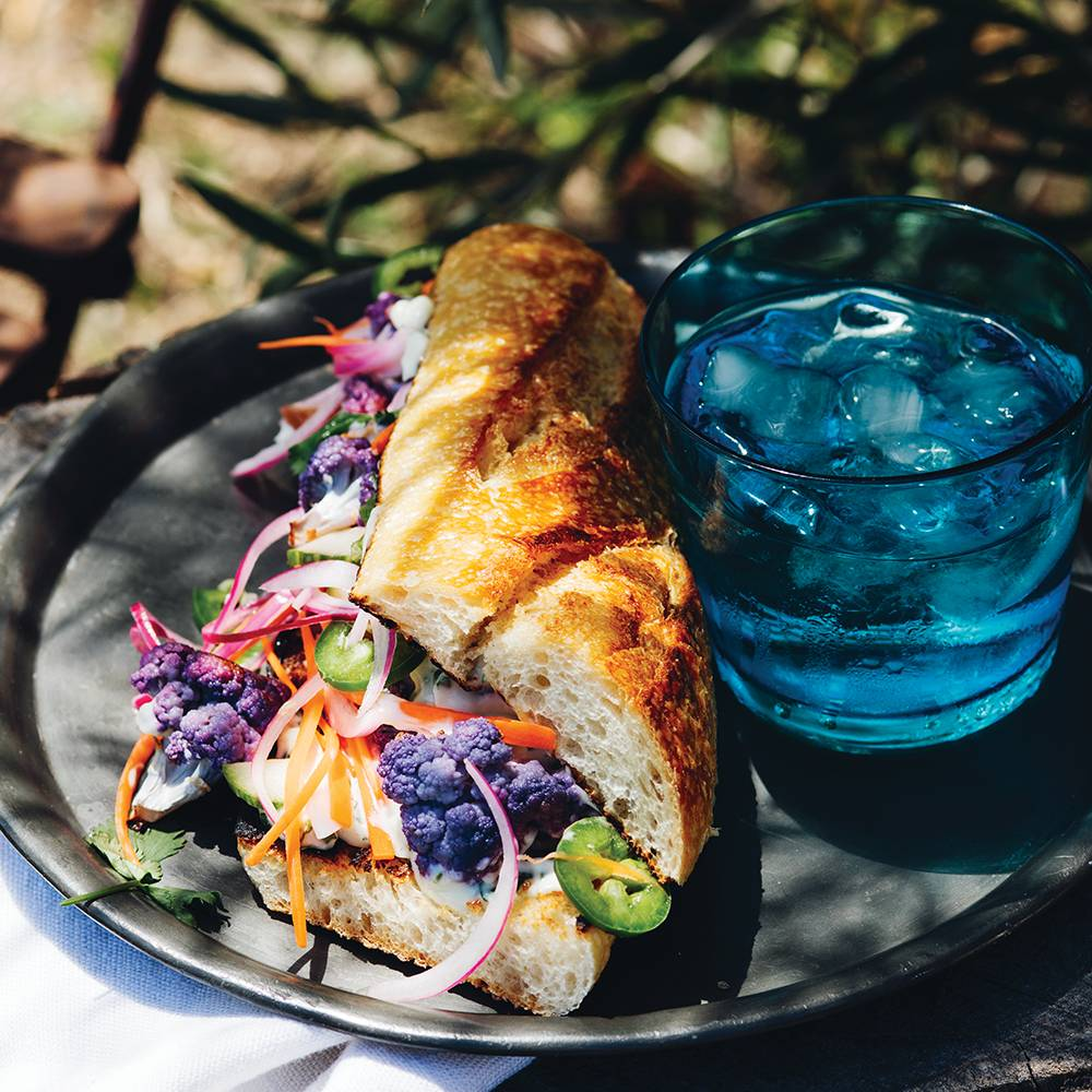 Infused Cauliflower Bahn Mi