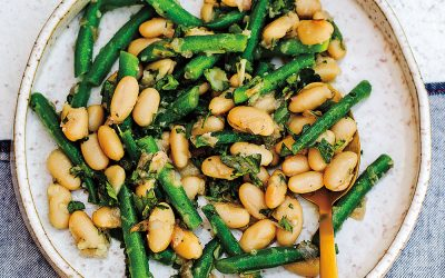 Frenchy Beans with Roasted Shallot Vinaigrette