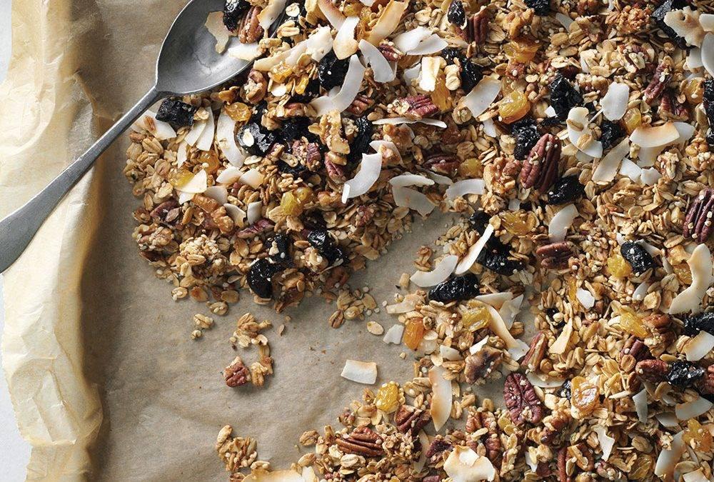 Recipe : Hemp Infused Maple Granola