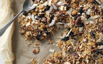 Recipe : Hemp Infused Maple Granola