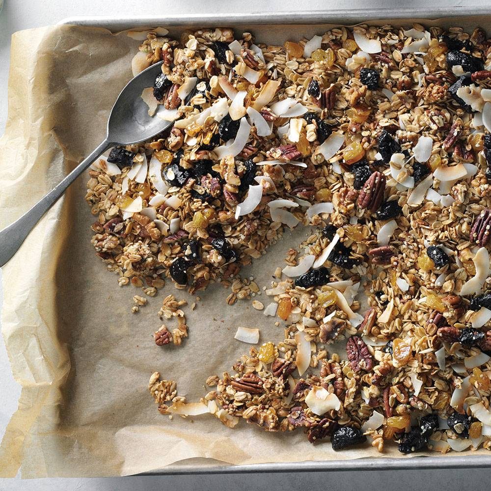 Maple Hemp Granola