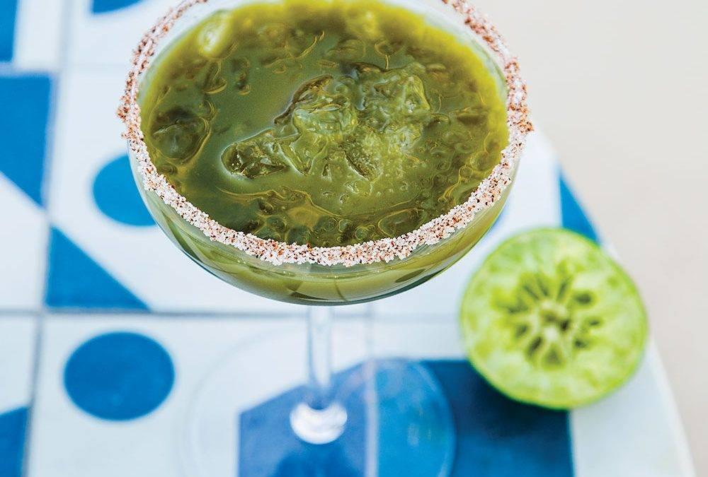 Recipe : Infused Green Goddess Margarita