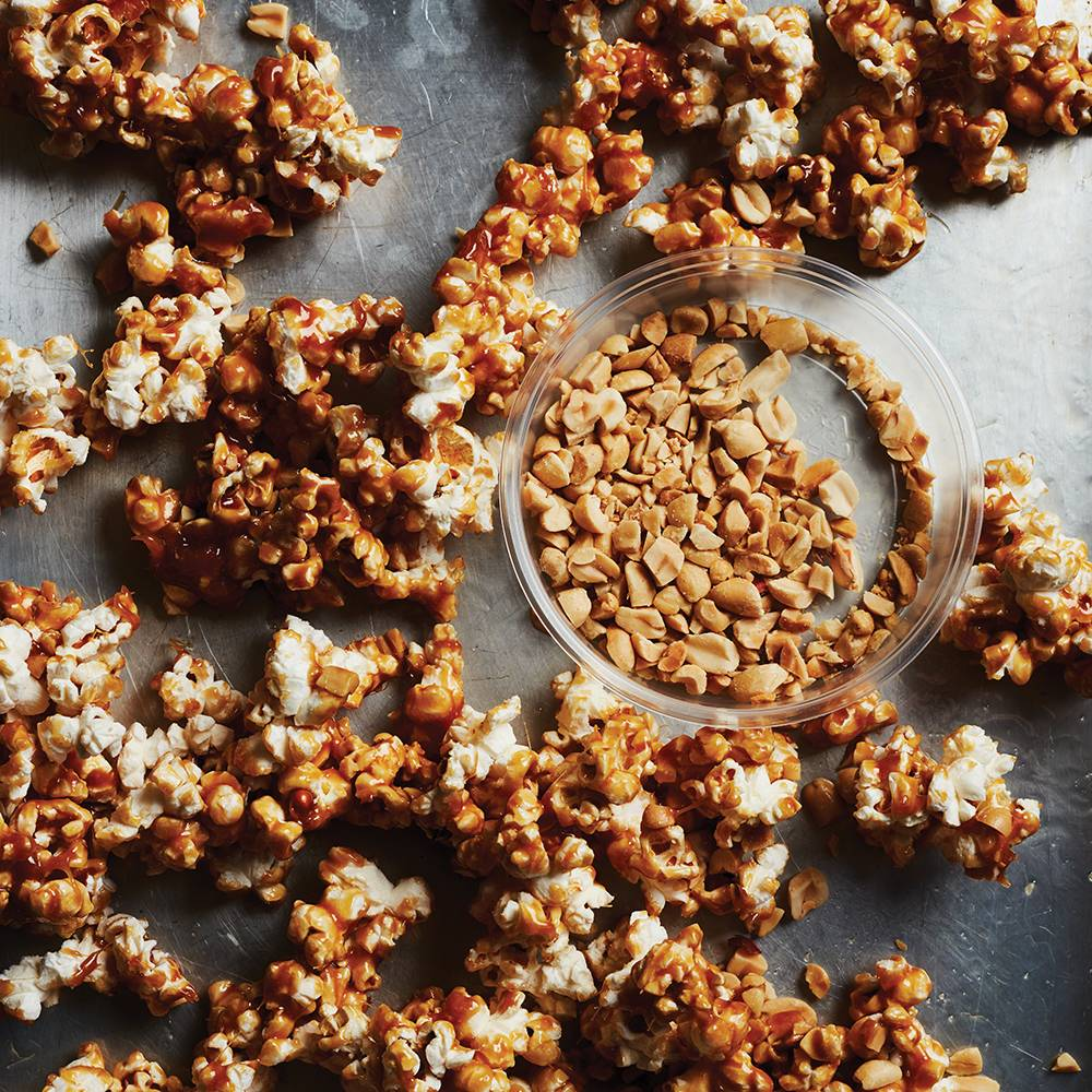 Infused Canna Taffy Apple Popcorn Clusters
