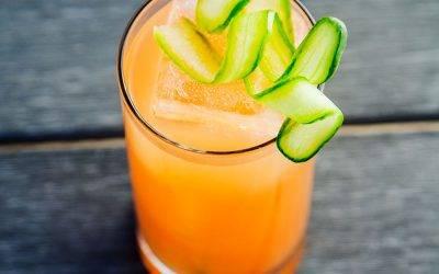 Recipe : CBD Infused Grapefruit Cocktail