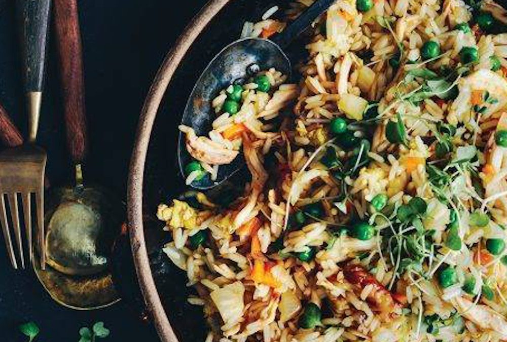 Cannabis Infused Fried Rice