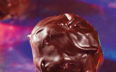 Psilocybin Ginger-Lime Chocolate Truffles