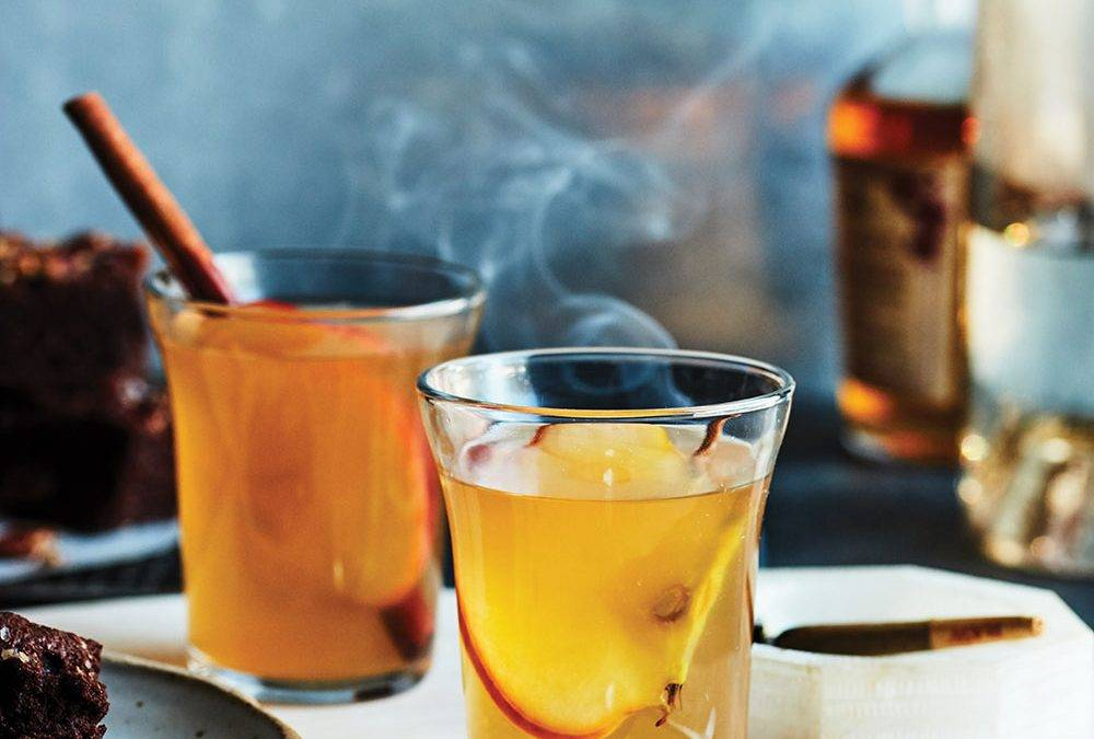Recipe: CBD infused apple brandy cocktail