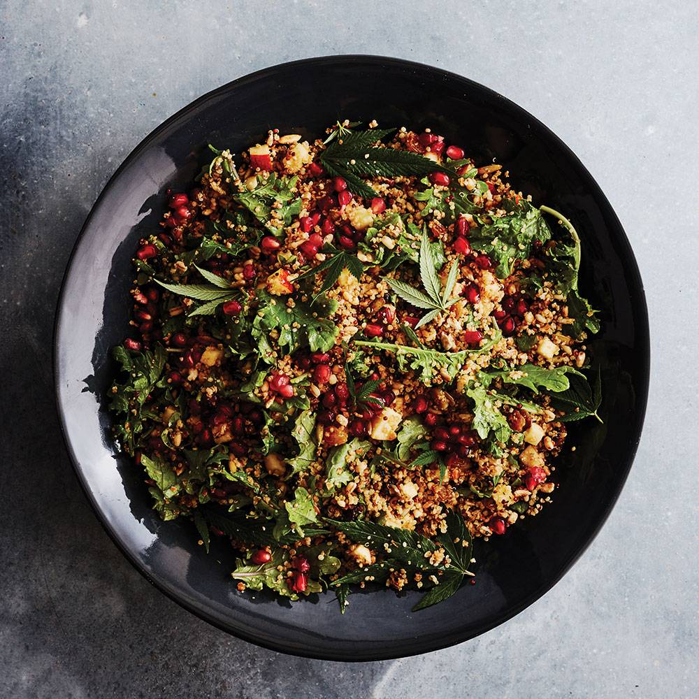 Recipe: Cananbis Infused Quinoa & Berry Salad