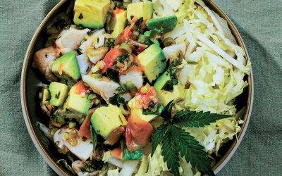 Recipe : Infused Scallop Poke with Pickled Ginger, Avocado and Jalapeno