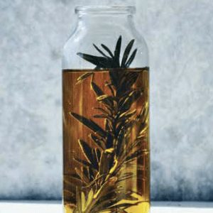 Garlic and herb infused canna oil