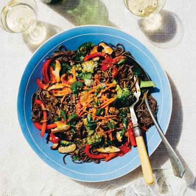 Recipe: Sesame Ginger Soba Noodle Salad
