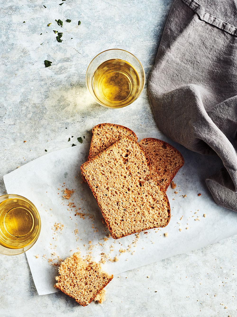 Terpene Isolate Herbed Spelt Bread