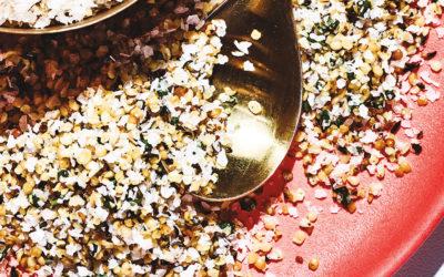 Toasted Hemp Seed Salt