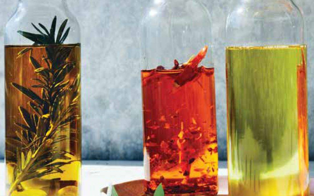 Infused canna oils