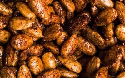 Recipe : CBD Infused Spiced Almonds