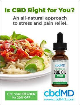 CBDMD ad for discount on quality CBD products