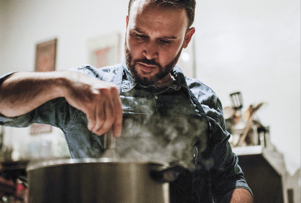 A chef kicks Crohn's disease and launches an ice cream disruption
