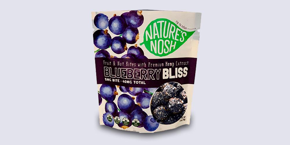 Blueberry CBD Bites
