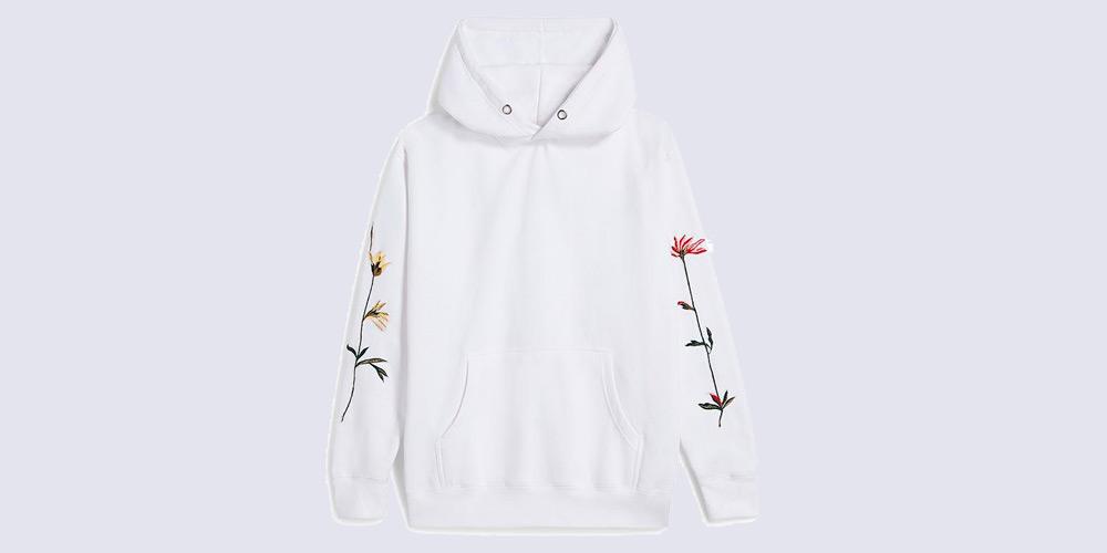 Prabal Gurung Floral Embroidered Hoodie