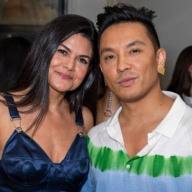 Joline Rivera of Kitchen Toke with Prabal Gurung