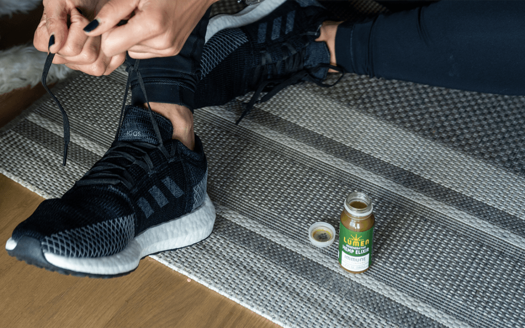 Keep the runner's high going with cannabis