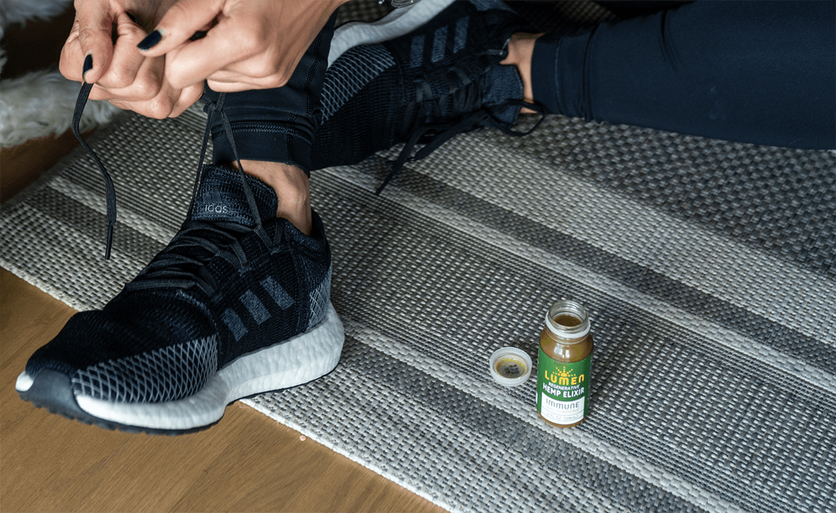 Runners use cannabis for pre-workout  and post-workout recovery
