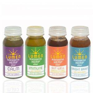 Buy hemp-based CBD elixirs from Lumen