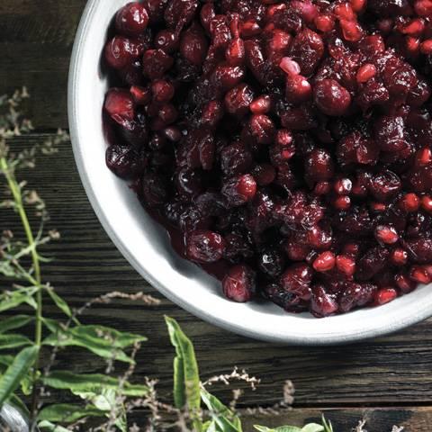 Cranberry-Pomegranate Compote