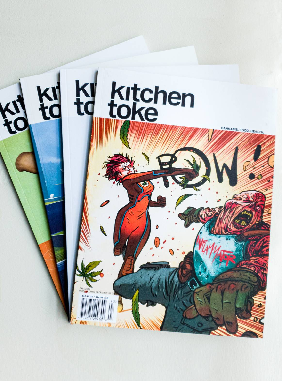 Subscribe to Kitchen Toke magazine