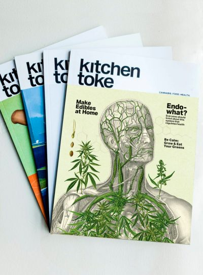 Subscription to Kitchen Toke magazine