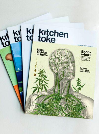 Subscription to Kitchen Toke magazine