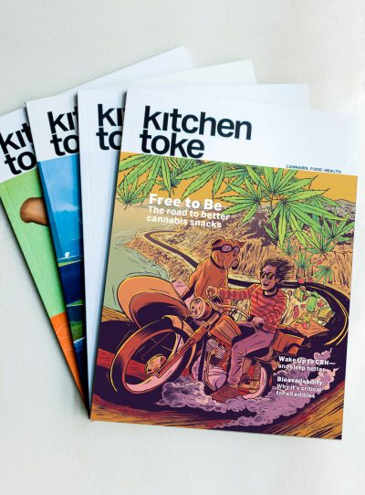 Buy a subscription to Kitchen Toke magazine
